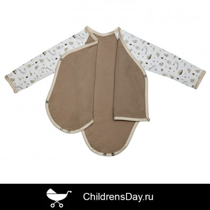 "боди-распашонка ""котики"", childrensday.ru"